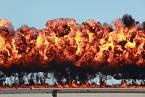 Bombardování napalmovými bombami