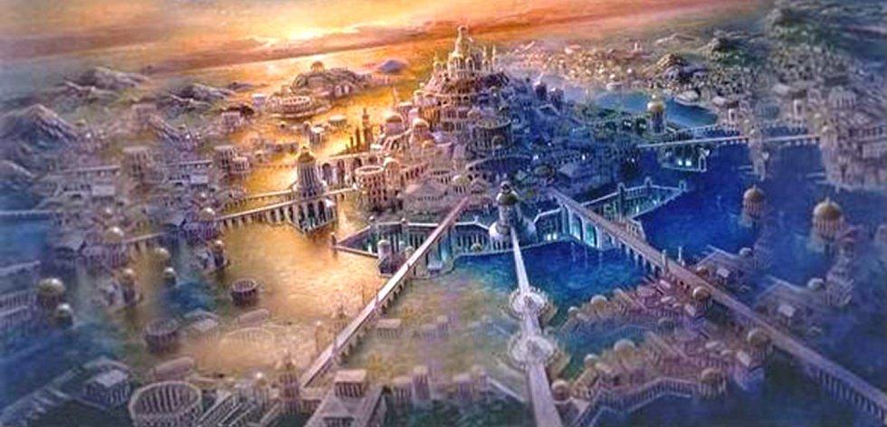 Atlantida. Na objevení čeká už staletí i bájný kontinent Atlantida, popsaný starověkým filozofem Platónem. Pevnina s vyspělou civilizací měla ležet v Atlantiku za Gibraltarem a roku 9600 př. n. l. se prý po zemětřesení potopila do moře.