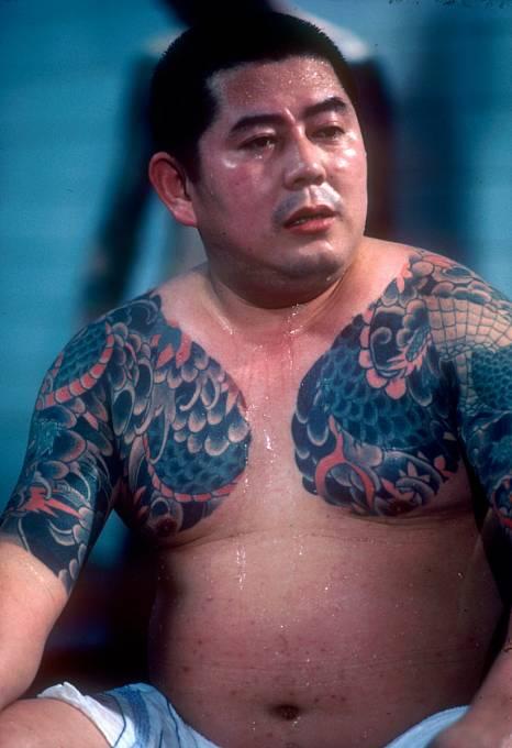 Člen zločinecké organizace Yakuza