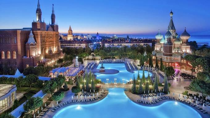 Je libo koupel uprostřed večerní Moskvy?