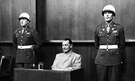 Göring před soudem