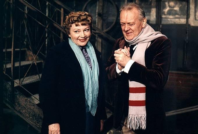 Karel Höger a Libuše Havelková