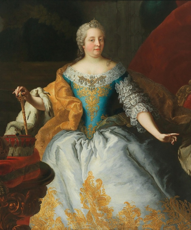 Marie Terezie, matka Marie Antoinetty