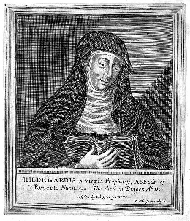 Svatá Hildegarda vymyslela svůj vlastní jazyk.