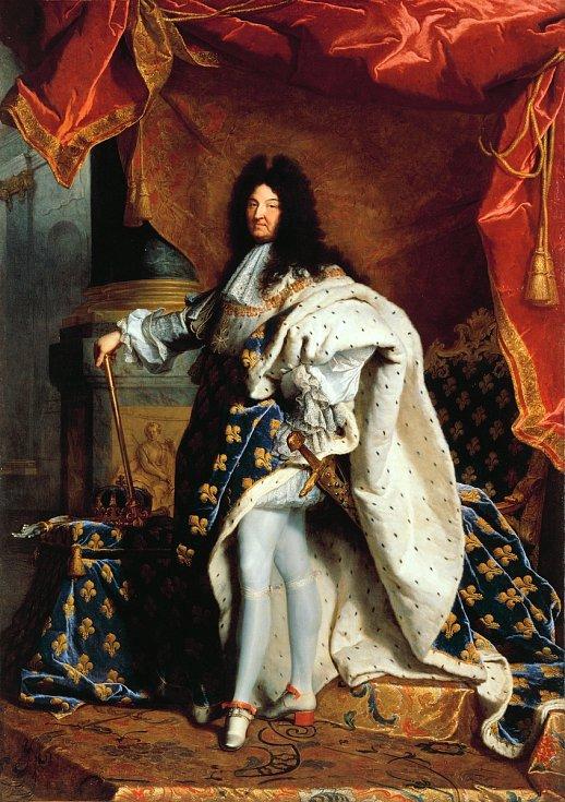 Francouzský král Ludvík XIV.
