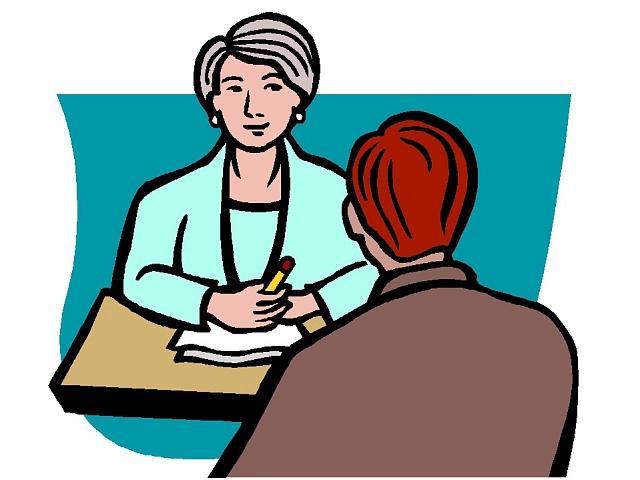 Pracovní pohovor - ilu