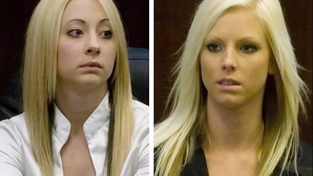 Ashley Miller (vlevo) a Heather Johnston