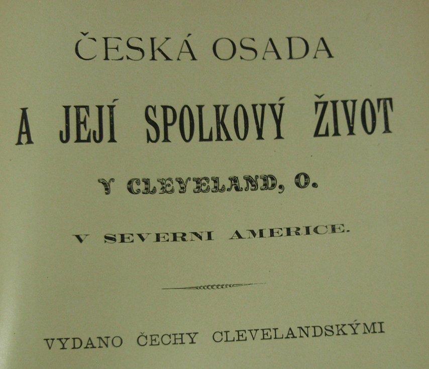 Knih popisujících českou komunitu v Clevelandu je navzdory její bohaté historii jen velmi málo.