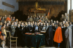 Uzavření Vestfálského míru v Münsteru