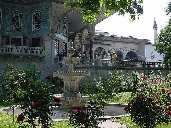 Zahrady paláce Topkapi