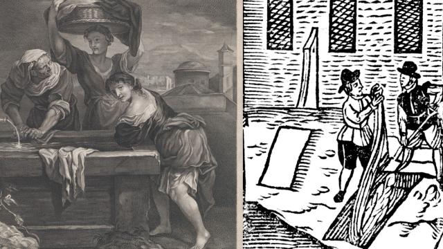 Mezi nejhorší povolání historie patřilo praní prádla i holení