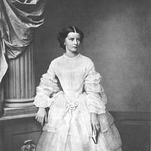 Císařovna Alžběta Bavorská, známá pod přezdívkou Sissi