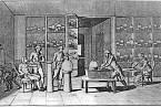 Lavoisier provádí jeden ze svých experimentů