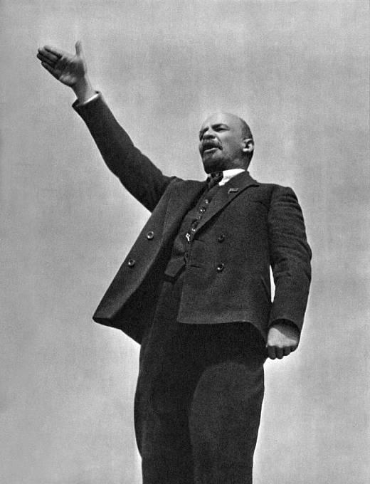 V.I. Lenin v roce 1919