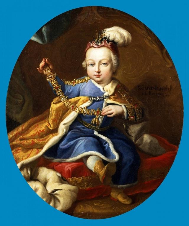 Josef II. byl svéhlavým a rozmazleným dítkem.