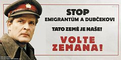 Agresivní kampaň Spolku přátel Miloše Zemana vyvolala řadu ironických memů