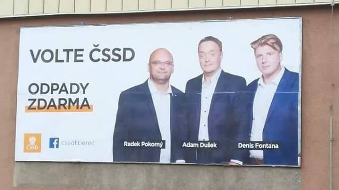 Odpady zdarma aneb trojice kandidátů ČSSD
