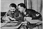 Josif Stalin a Kliment Vorošilov