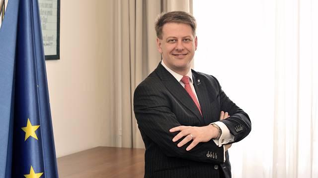 Státní tajemník pro evropské záležitosti při Úřadu vlády ČR Tomáš Prouza