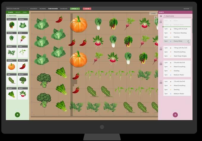 Svoji budoucí úrodu si můžete naklikat přes mobil třeba cestou z práce domů.