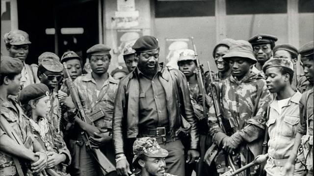 Jonas Savimbi byl dlouholetý vůdce opozičního hnutí UNITA v Angole.