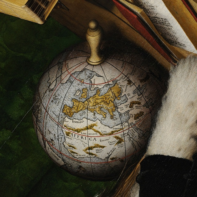 Detail globu zobrazu Vyslanci