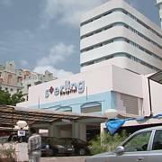 Nemocnice, kde se Jani podrobil pozorování