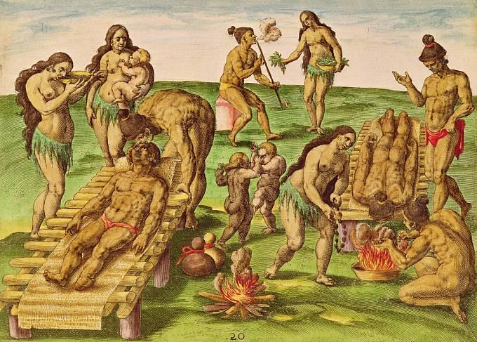 Indiáni používali tabák i při rituálech