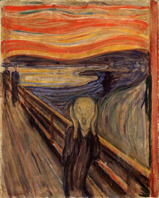 Obraz Výkřik vznikl hned v několika verzích