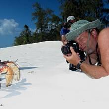 Natáčení filmu Aldabra: Byl jednou jeden ostrov