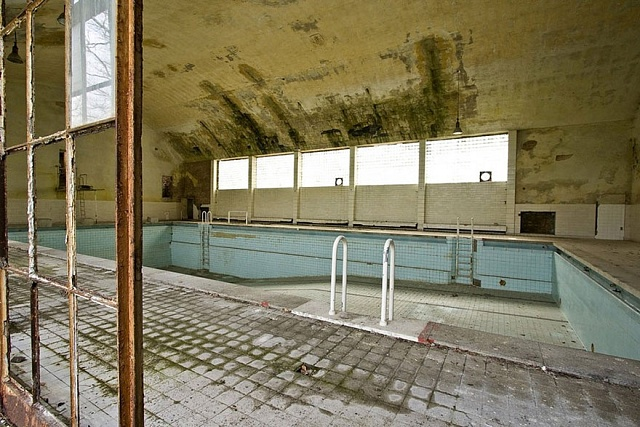 Plavecký bazén, Berlín 1936