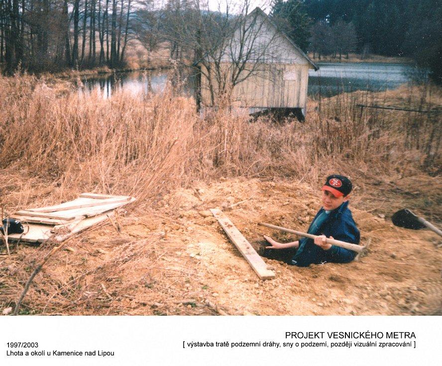 Jako dítě zkusil Jan Trejbal vykopat metro k chatě svých rodičů