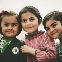 Děti původních Árijců mohly vypadat zrovna jako děti žijící dnes v oblasti Indie, Pákistánu a Afghánistánu.