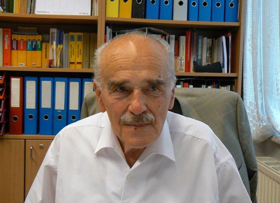 Alfred Bäcker v srpnu 2008