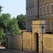 Praha, Hradčany - ulice Kapucínská