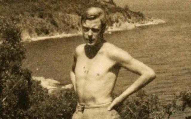 Eduard VIII. při prázdninové cestě po Středomoří vlétě 1936