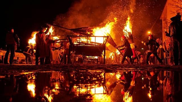 Ve středověku se ohně snadno vymkly kontrole.