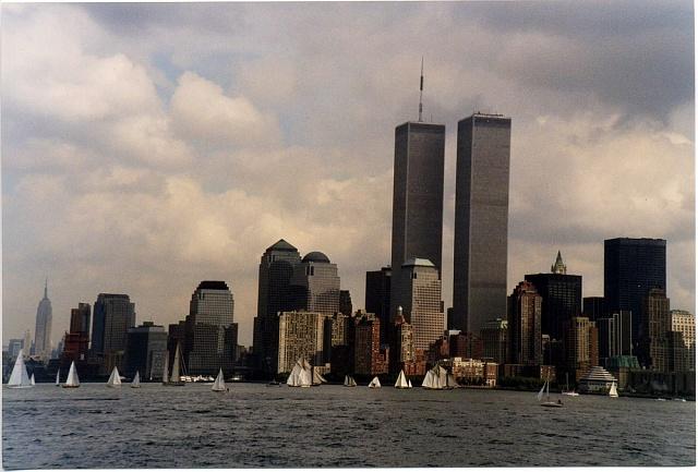 Twins Tower - bývalé sídlo Světového obchodního centra (WTC)