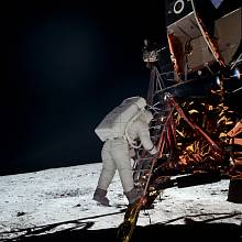 21. července 1969: Neil Armstrong jako první člověk ze Země vstoupil na povrch Měsíce. A pak vyfotil Buzze Aldrina.