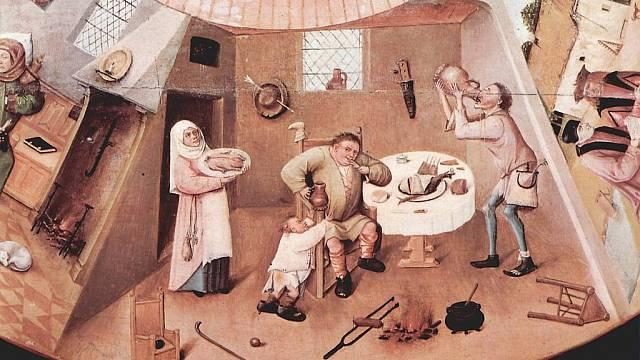 Hieronymus Bosch - Sedm hříchů