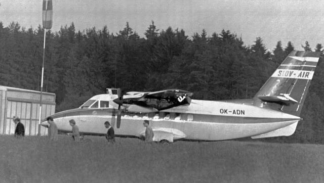 Letoun L-410A Turbolet, ilustrační foto.