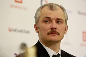 Umělecký ředitel mezinárodního filmového festivalu v Karlových Varech Karel Och