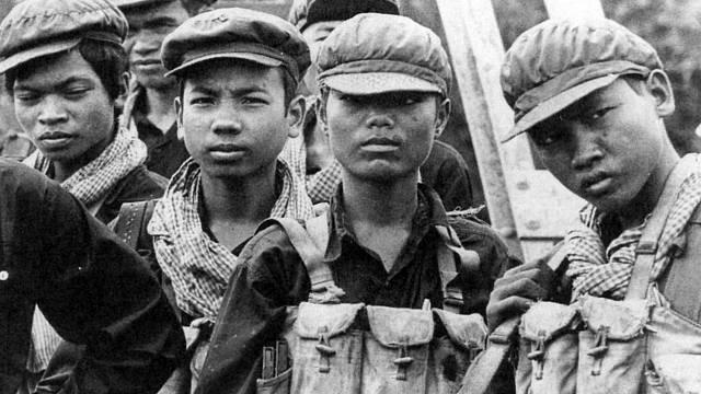 Mnozí Rudí Khmerové byli ještě děti.