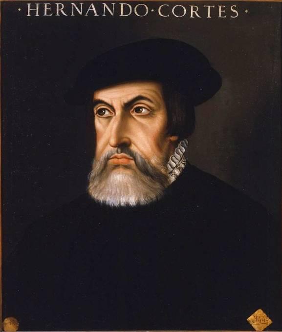 Španělský dobyvatel Hernán Cortés
