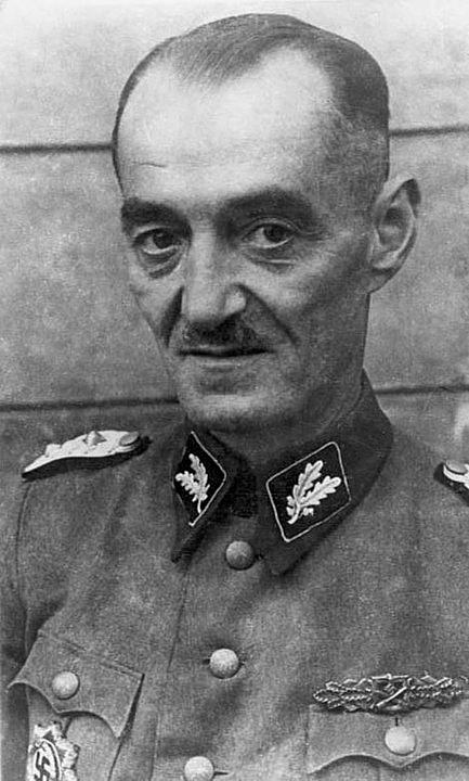 Velitel jednotky SS-Sturmbrigade Dirlewanger, Dr. Oskar Dirlewanger