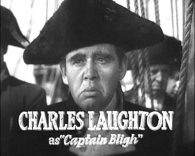 Ve filmu z roku 1935 hrál Blighe Charles Laughton