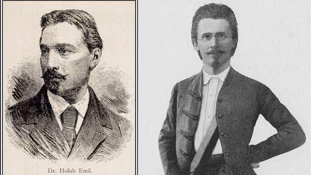 Emil Holub a Vojtěch Náprstek byli přátelé. Spojoval je zájem o daleké kultury a o černý kontinent.