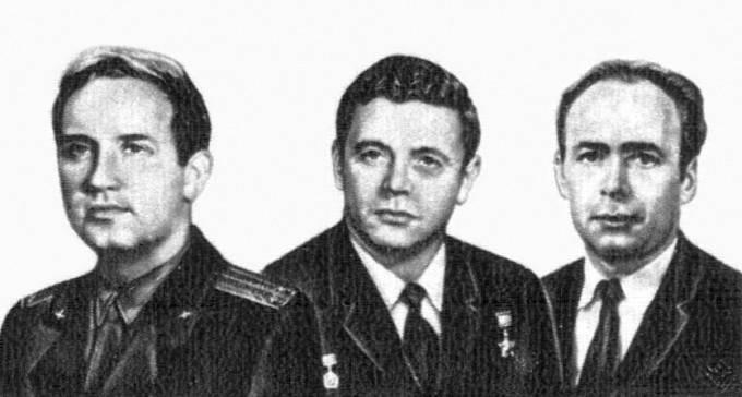 Posádka Sojuzu 11 - Dobrovolskij, Volkov, Pacajev