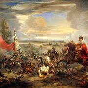 Útok polské kavalerie pod vedením Jana III. Sobieského na Osmany.
