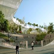 Vznášející se les je pařížským projektem japonského architekta Sou Fujimota